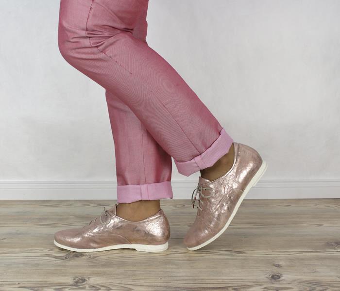 4e10c65f9feedf SHU 31 THINK Shua 82035-34 Schnür-Schuhe rose-gold