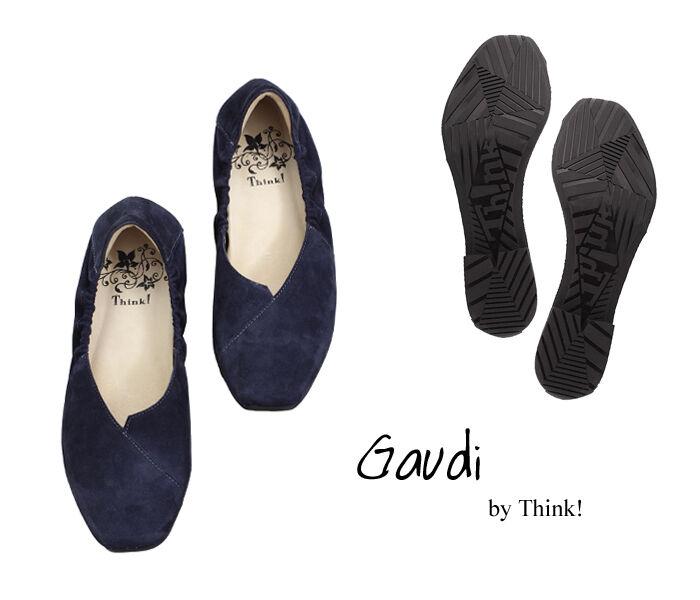 GDI 17 THINK GAUDI 82175-86 Ballerinas water-blau b6d1d69bbe