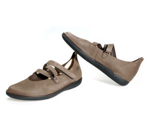 LNT 371 LOINTS NATURAL 68310-0302-taupe Ballerinas taupe