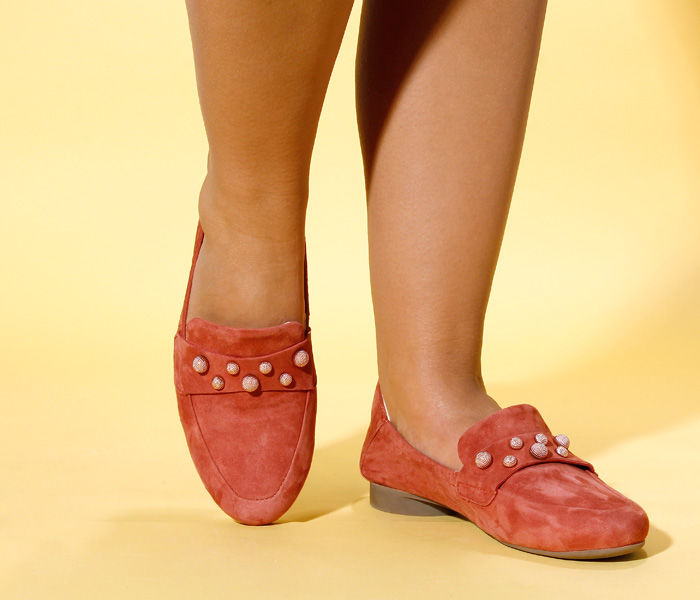 think sandalen damen rot