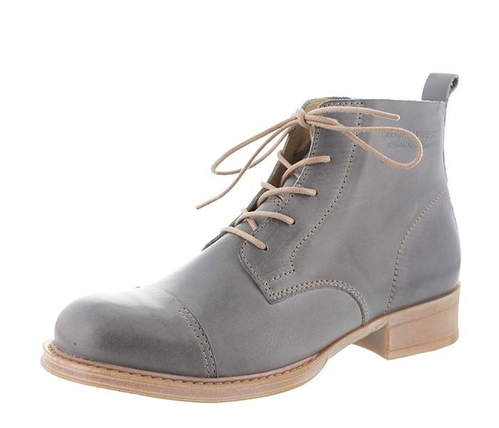 TPN 27 TEN POINTS Pandora 123007-201 Schnür Boots grey
