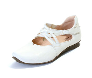 HIL 475 THINK CHILLI 86108-95-VEG ivory Ballerinas