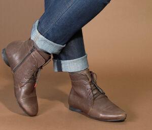 THINK Schuhe GUAD XTRA Booties braun 85279 55 Grösse 42,5