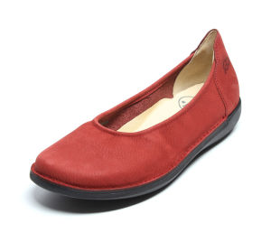 LNT 981 LOINTS NATURAL 68303-0234-red Ballerinas